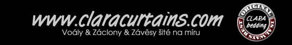 Navštivte nás také na našem webu www.claracurtains.com