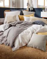 Luxusní - Lněné Povlečení - Premium - Len& Bavlna a Len