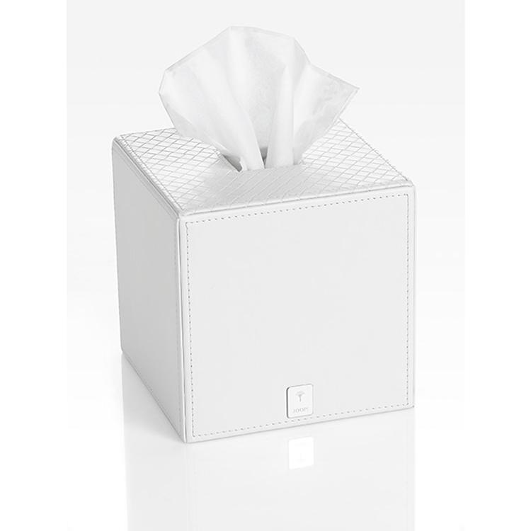512ec5775 Box na Papírové Ubrousky Kostka - Grafik & Logo - JOOP! - Bílá ...
